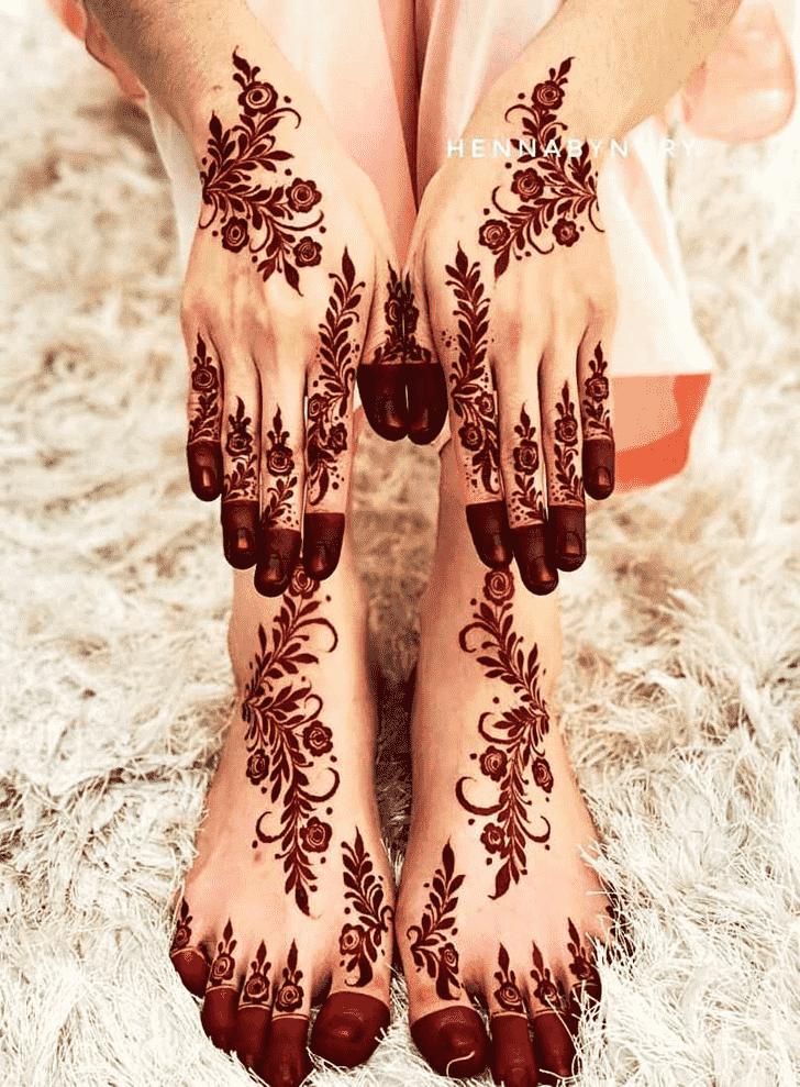 Charming Goa Henna Design