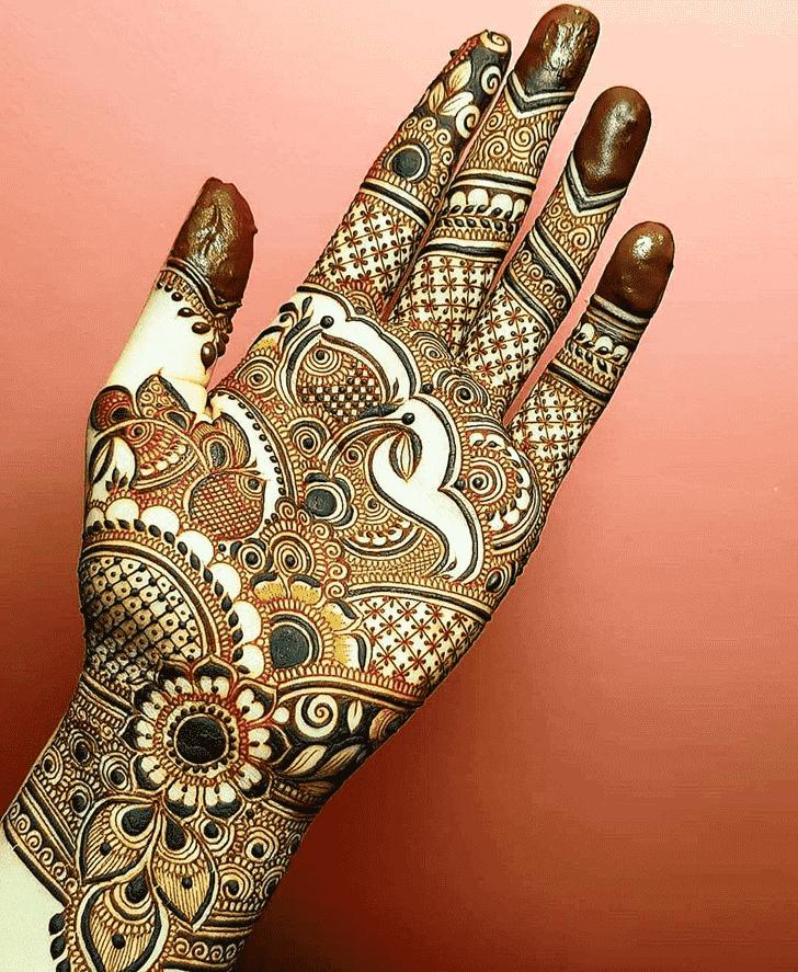 Classy Goa Henna Design