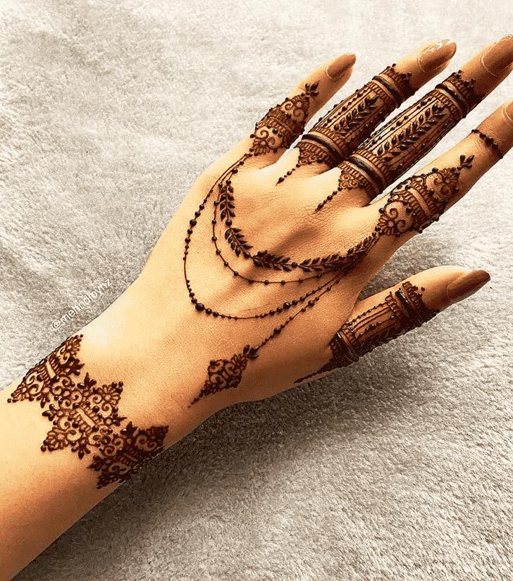 Dazzling Goa Henna Design