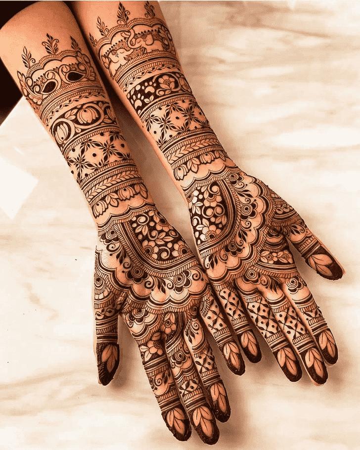 Arm Goa Henna Design