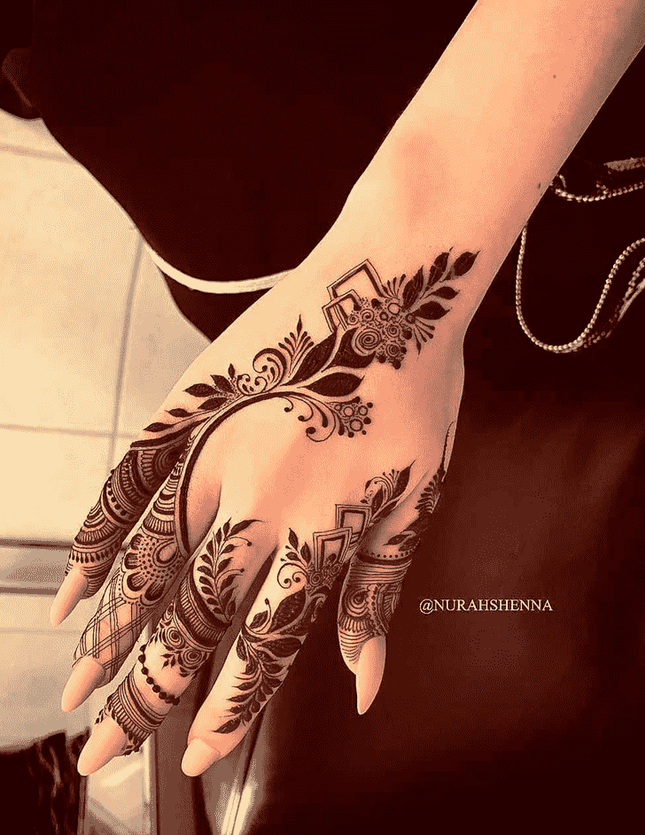 Excellent Goa Henna Design