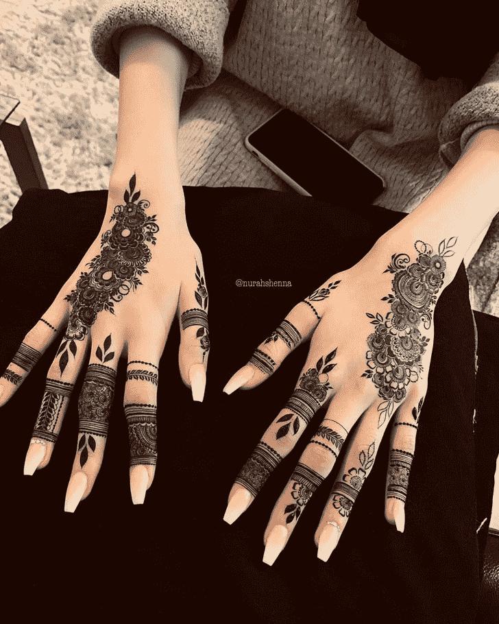 Exquisite Goa Henna Design