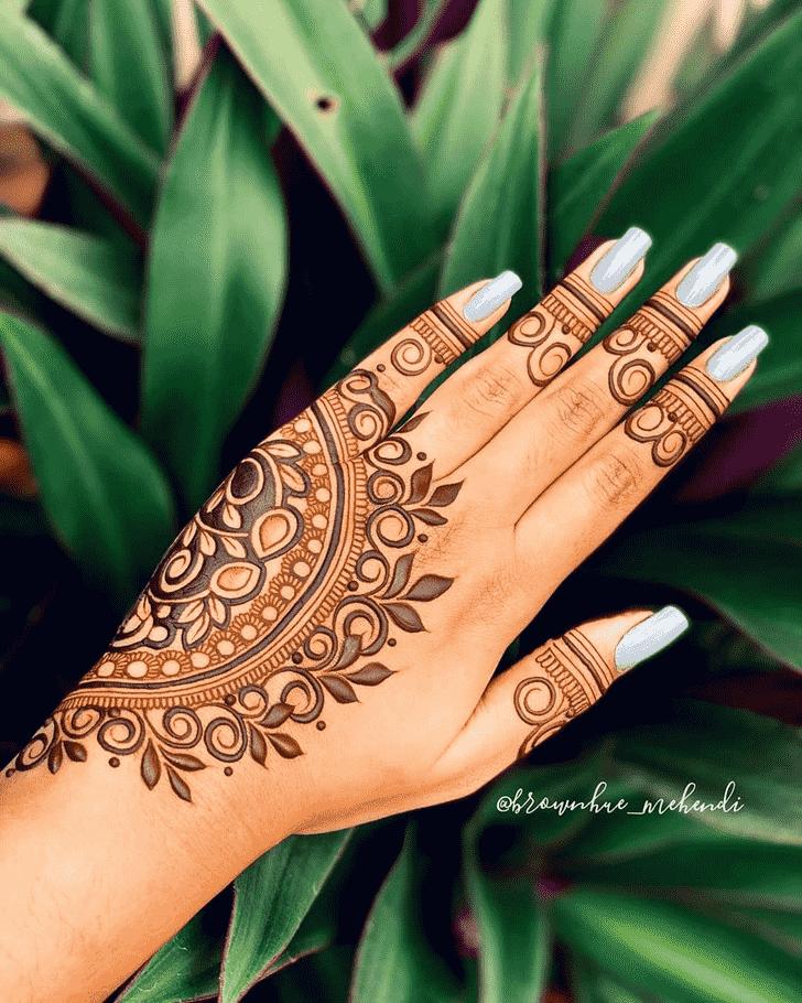 Good Looking Goa Henna Design