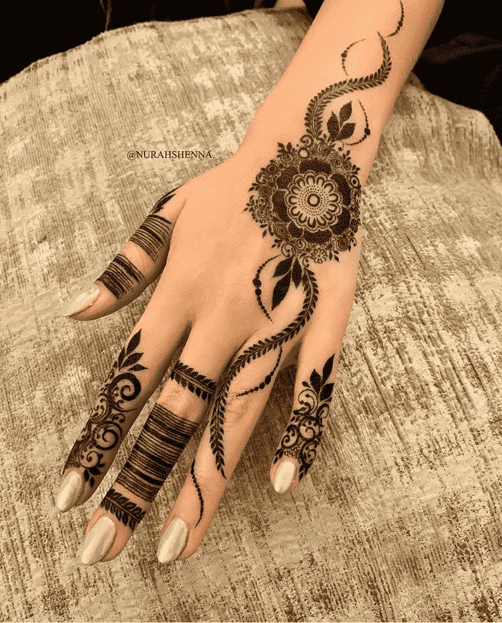 Gorgeous Goa Henna Design
