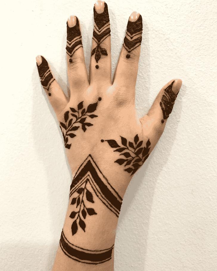 Magnetic Goa Henna Design