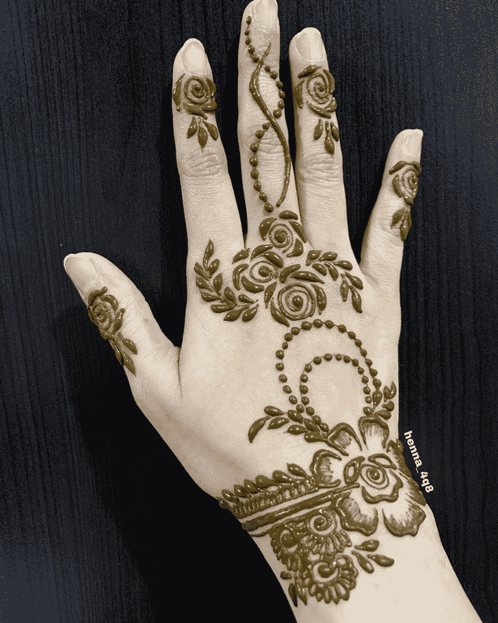 Marvelous Goa Henna Design
