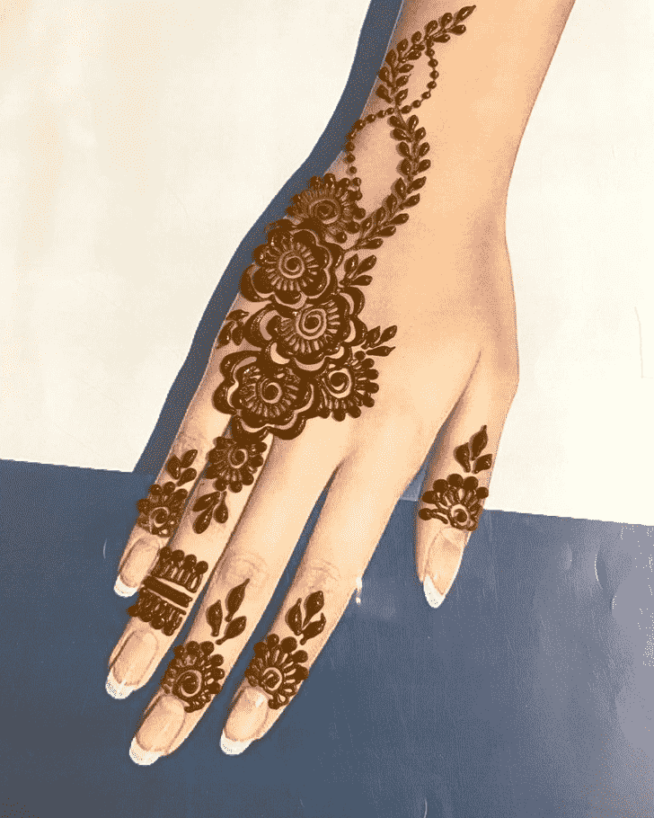 Nice Goa Henna Design
