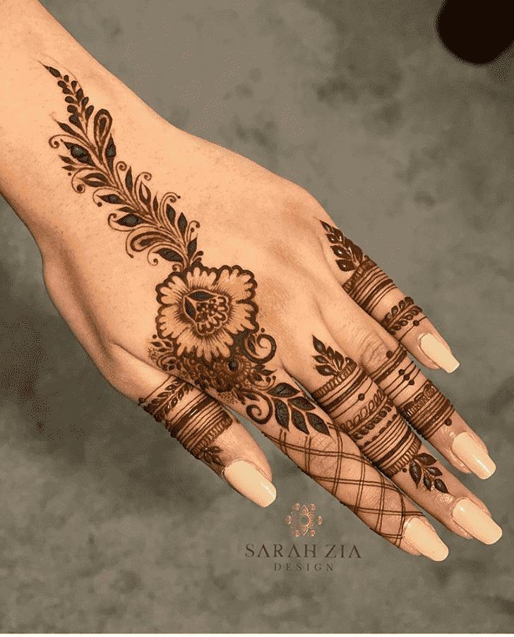 Pretty Goa Henna Design