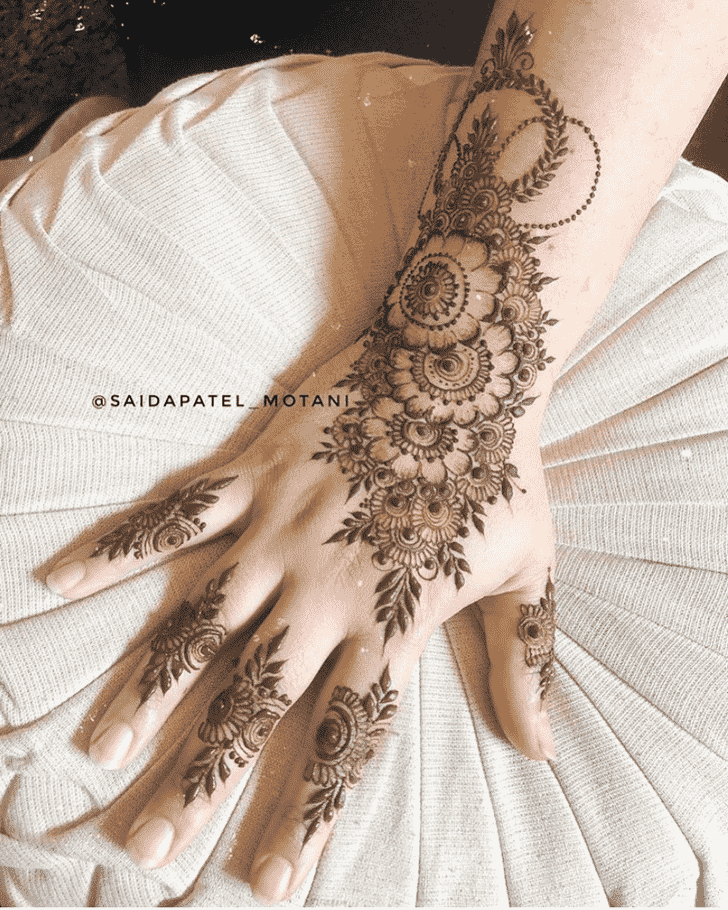 Resplendent Goa Henna Design