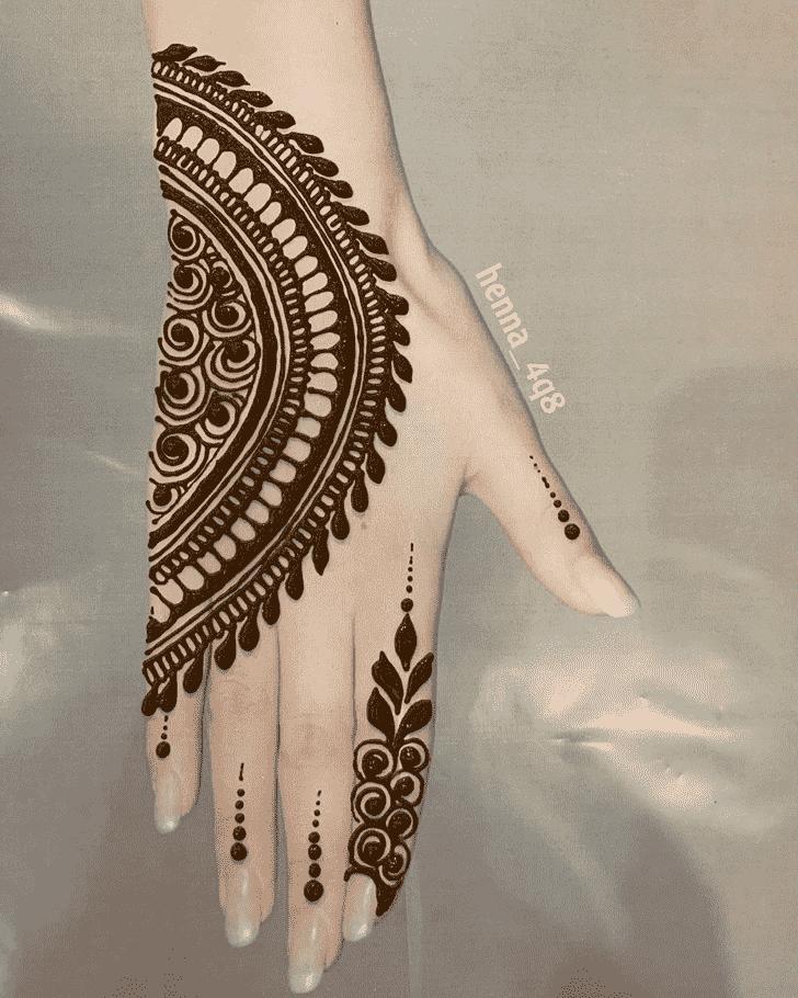 Slightly Goa Henna Design