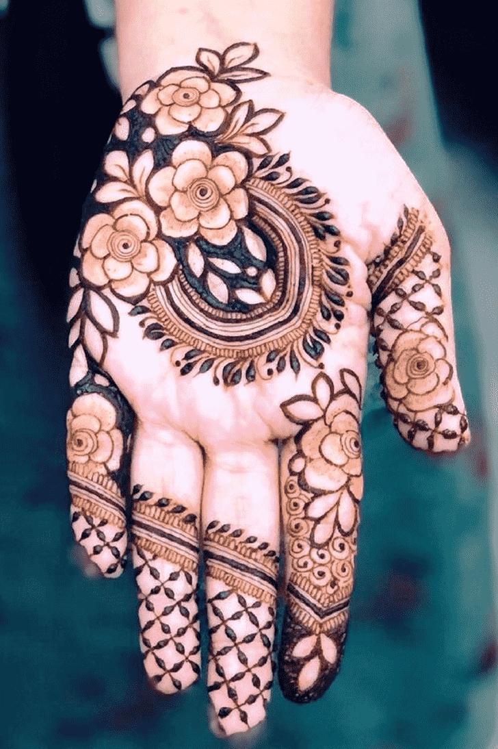 Fair Gol Tikki Henna Design