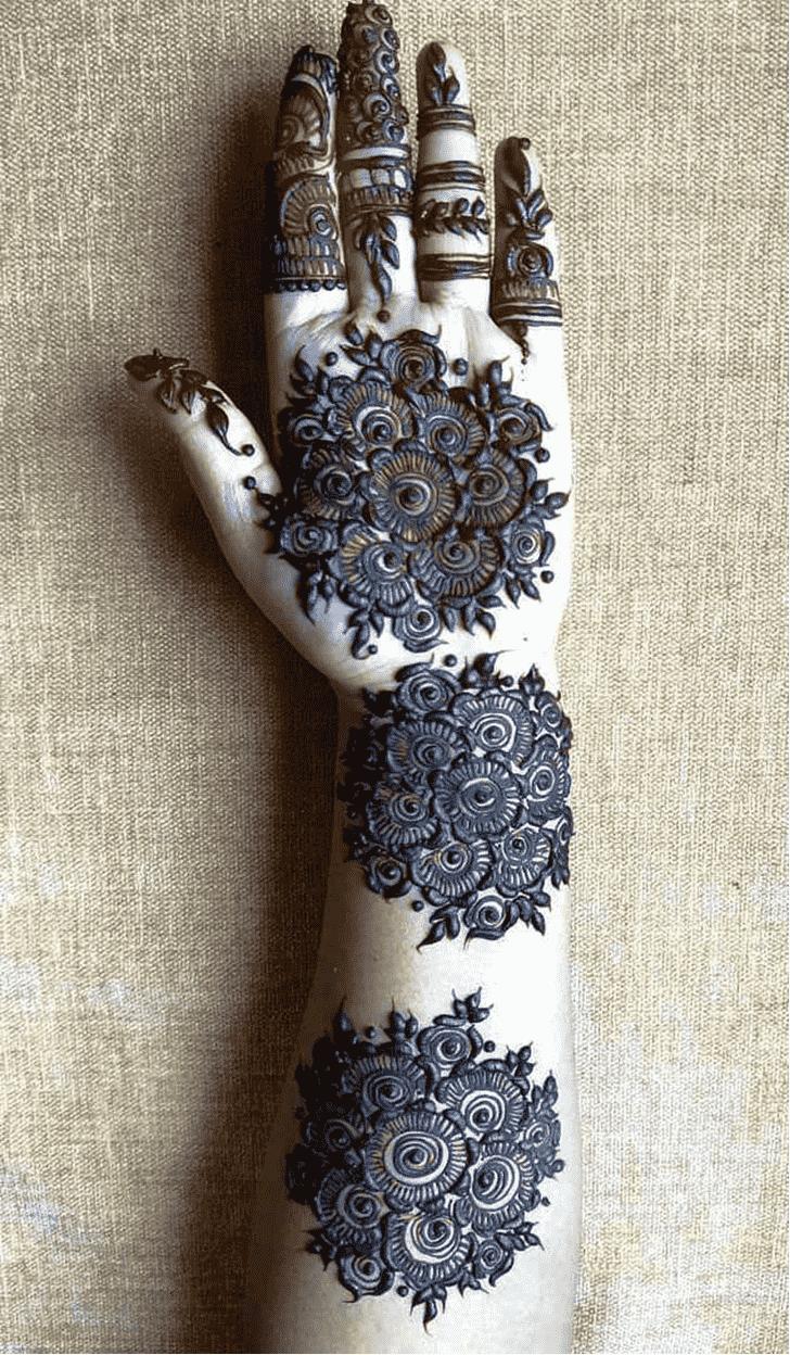 Ideal Gol Tikki Henna Design