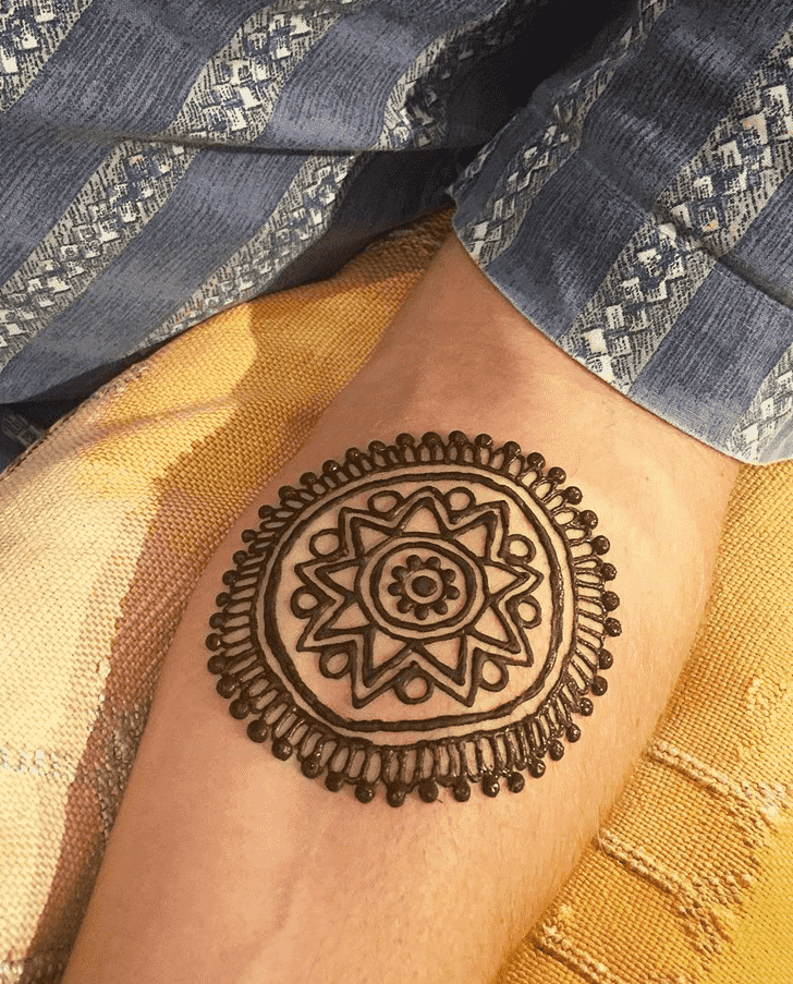 Admirable Groom Mehndi Design