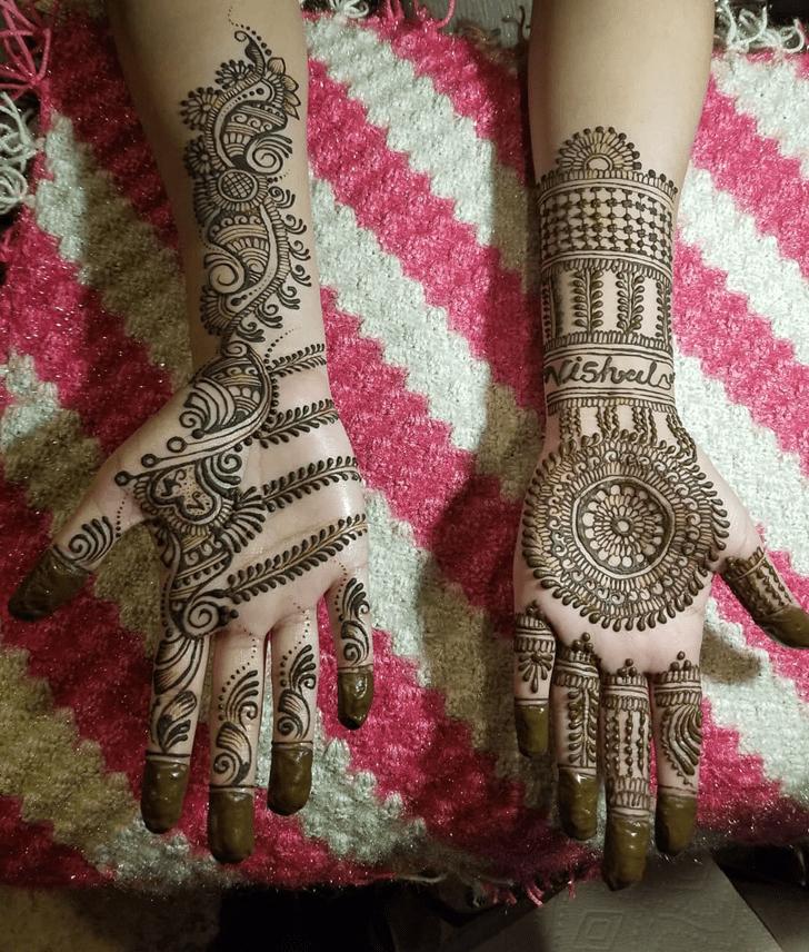 Appealing Gulf Henna Design