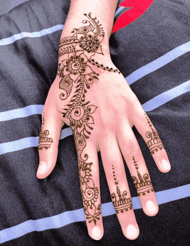 Adorable Gurgaon Henna Design