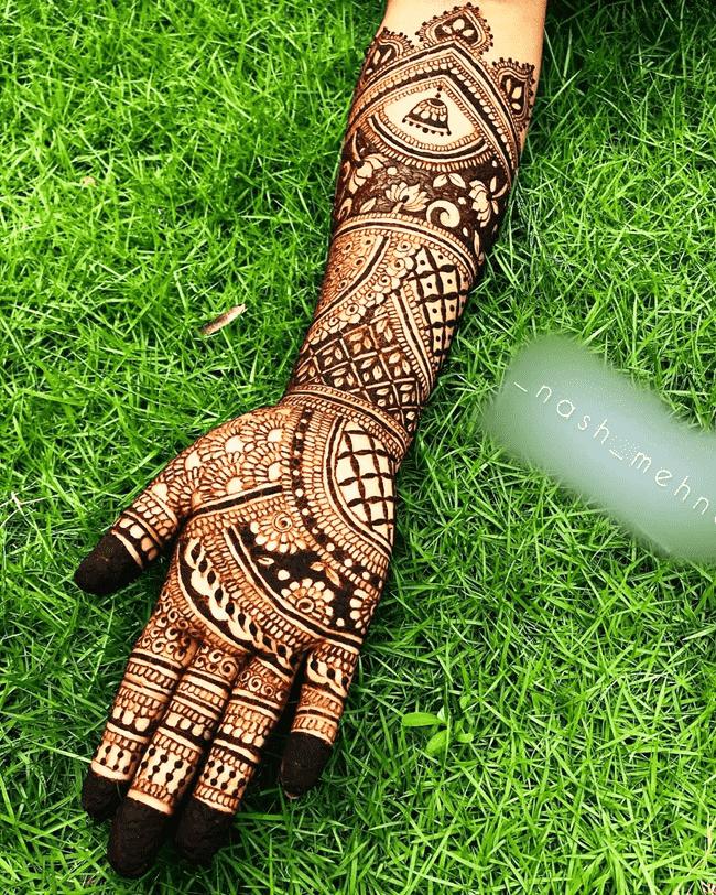 Bewitching Gurgaon Henna Design