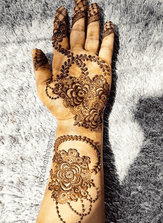 Charming Gurgaon Henna Design