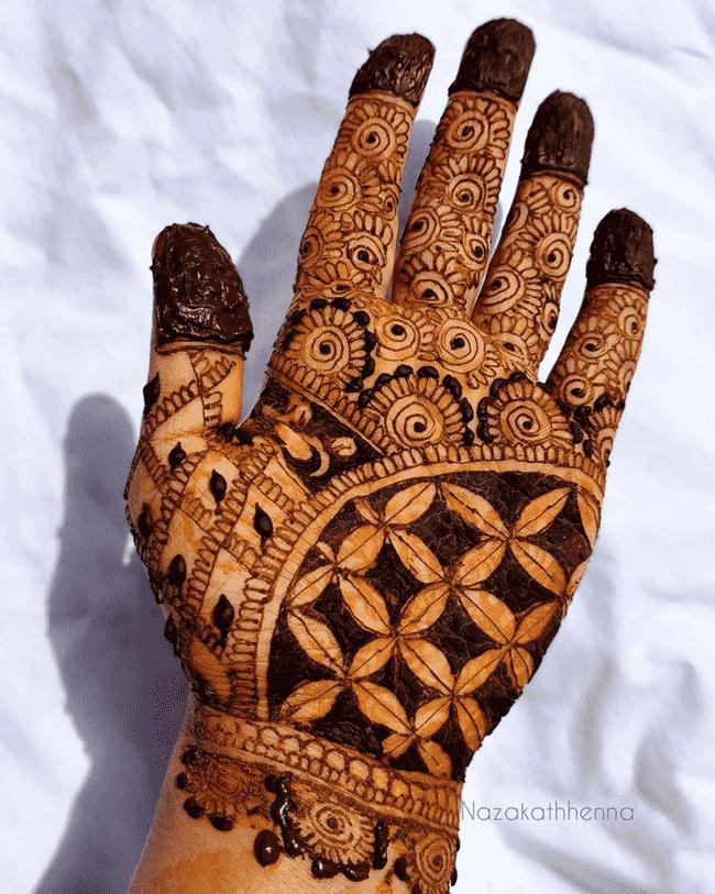 Classy Gurgaon Henna Design