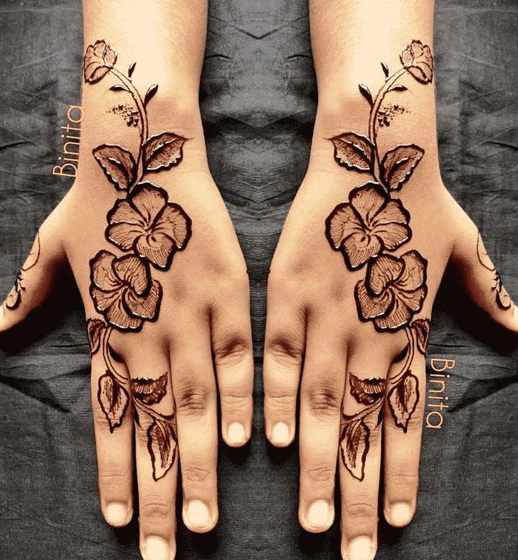 Appealing Gurugram Henna Design