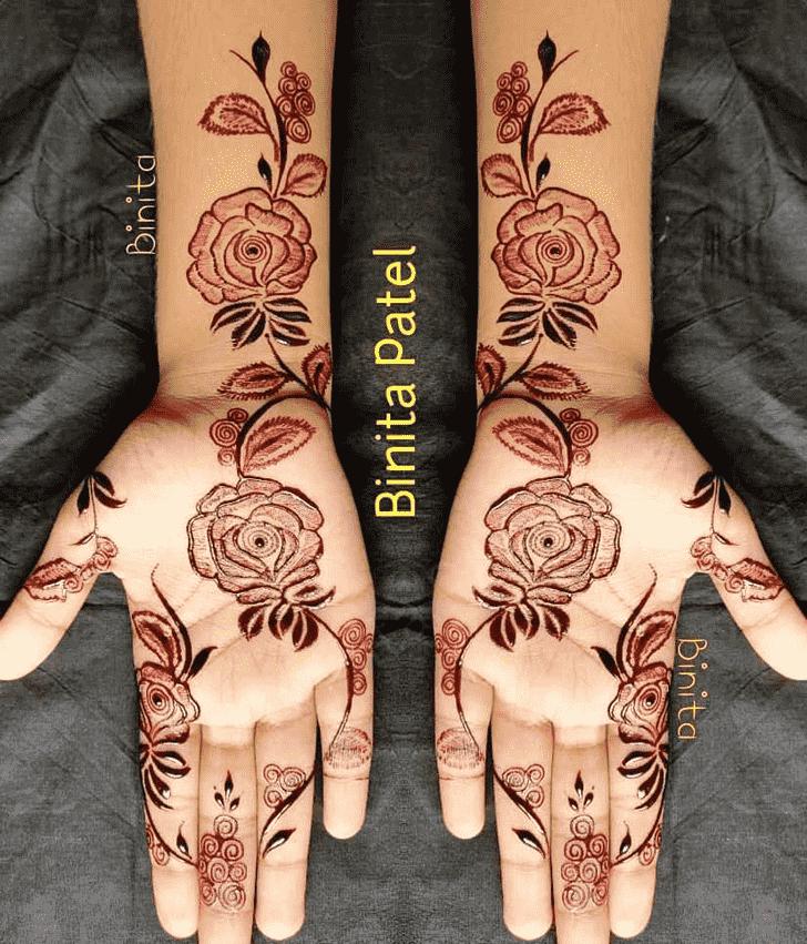 Classy Gurugram Henna Design