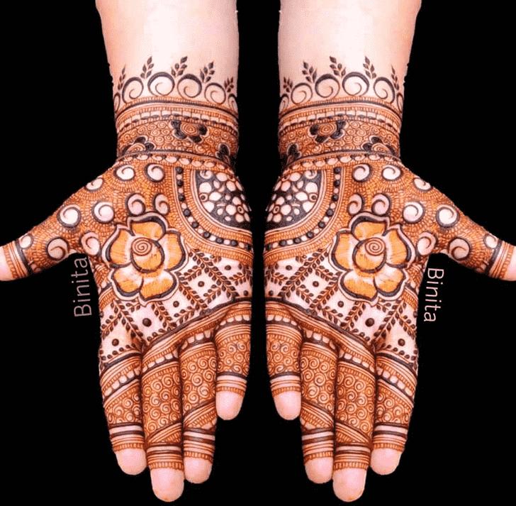 Comely Gurugram Henna Design