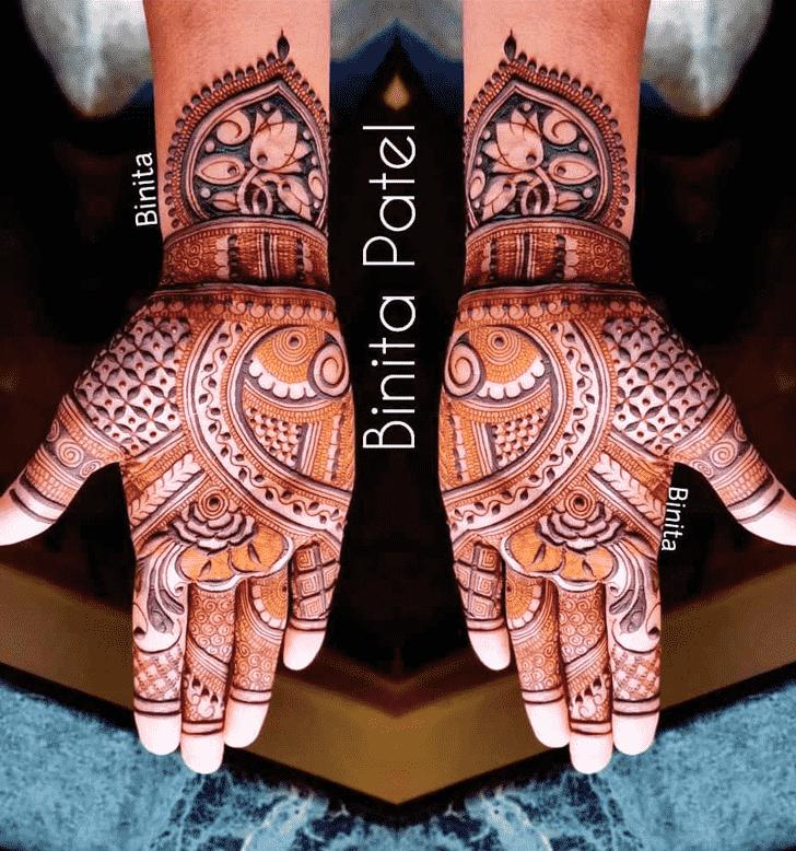 Arm Gurugram Henna Design