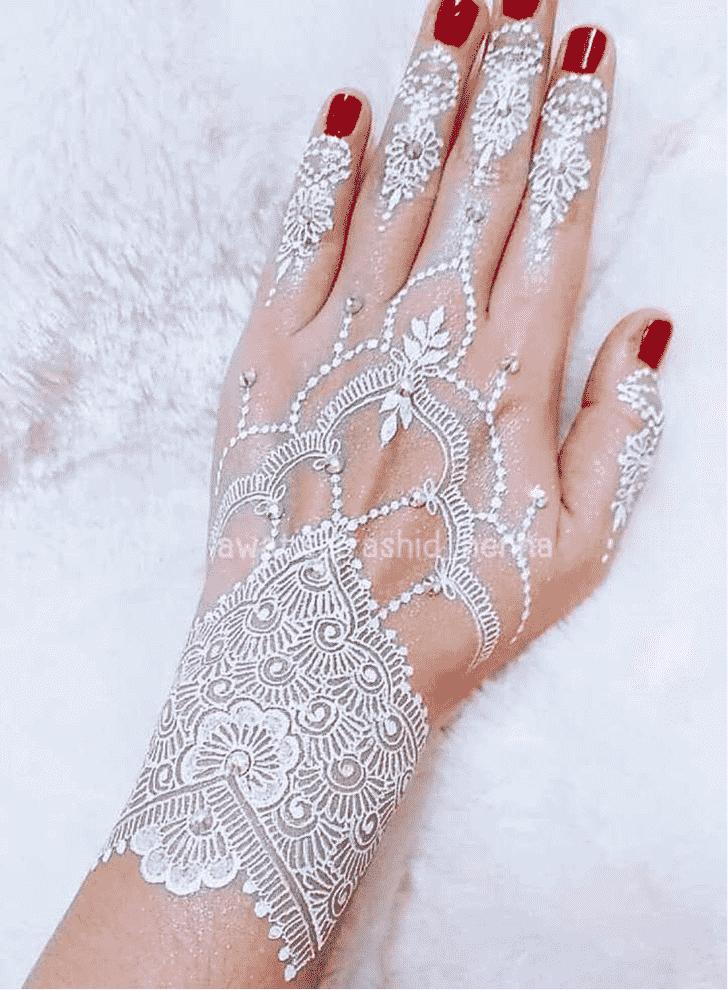 Delicate Gurugram Henna Design