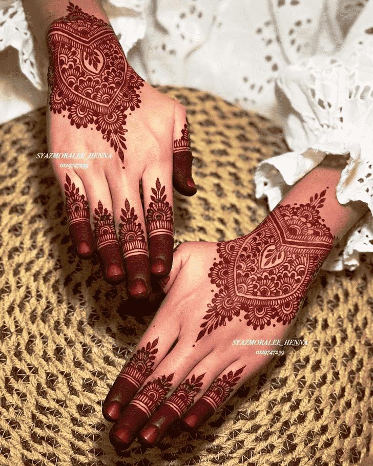Gorgeous Gurugram Henna Design