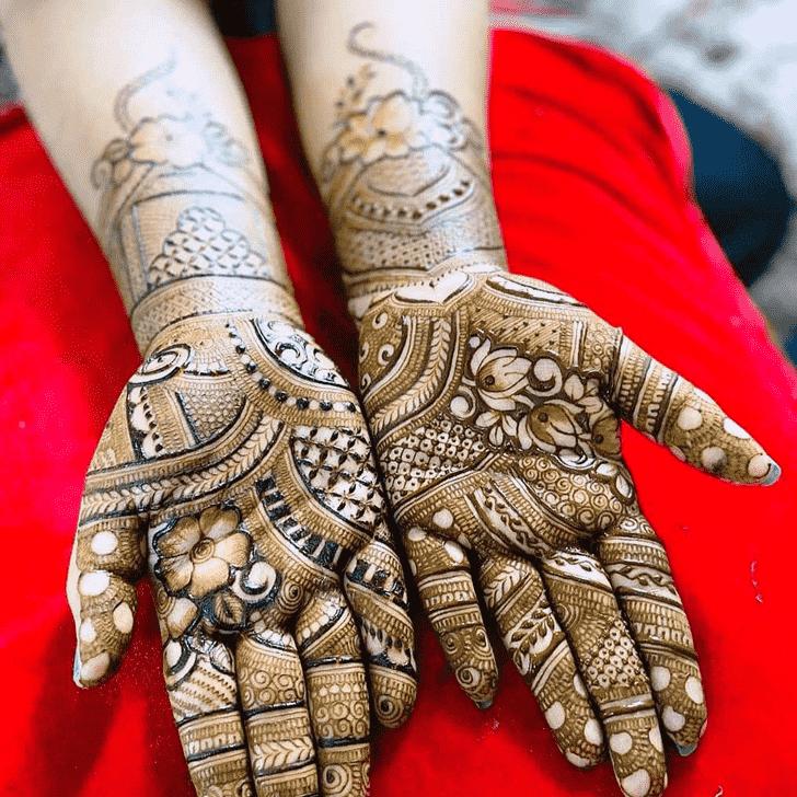 Magnificent Gurugram Henna Design