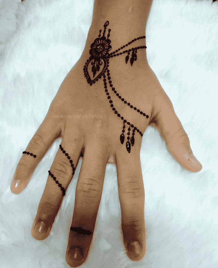 Pleasing Gurugram Henna Design