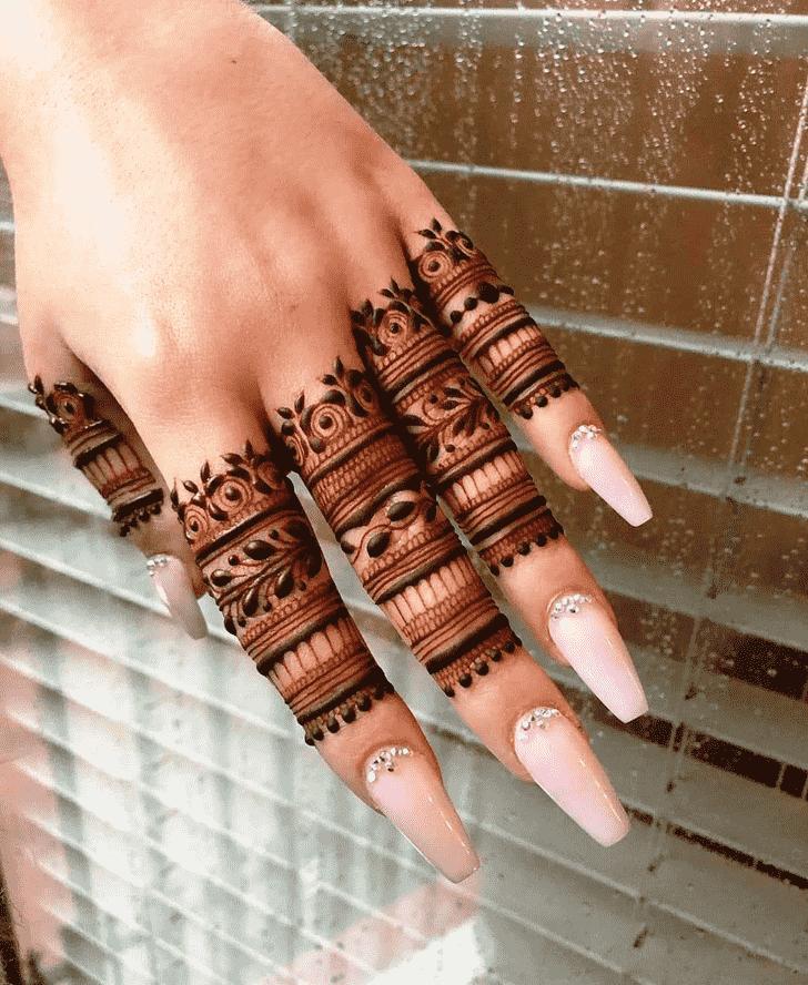 Radiant Gurugram Henna Design