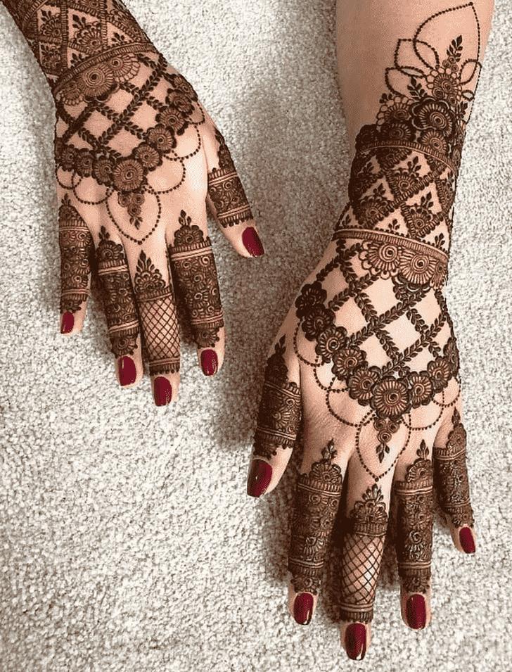 Ravishing Gurugram Henna Design