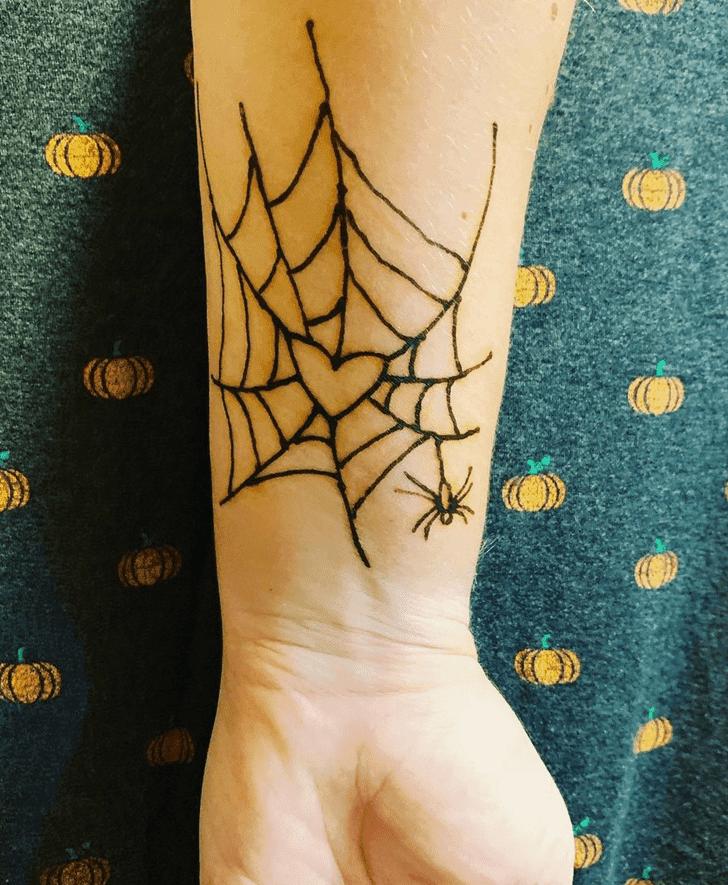 Magnificent Halloween Henna Design