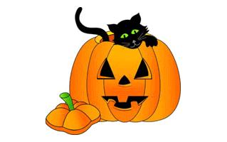 Halloween Mehndi Design