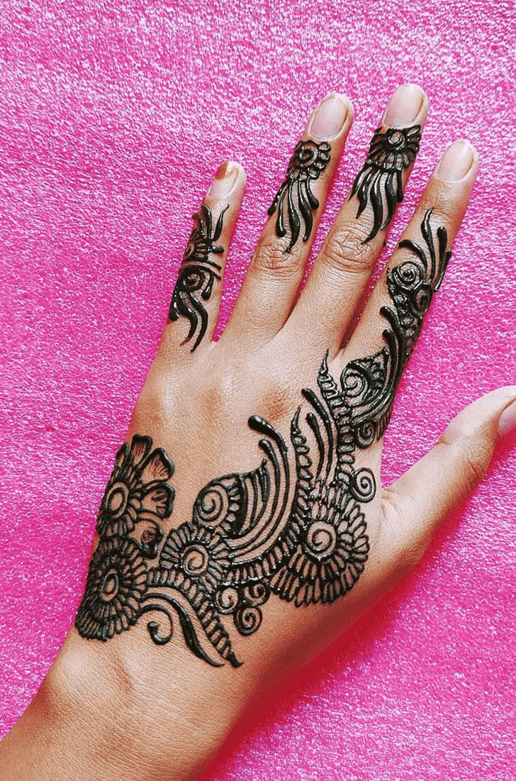 Cute Hand Henna Design