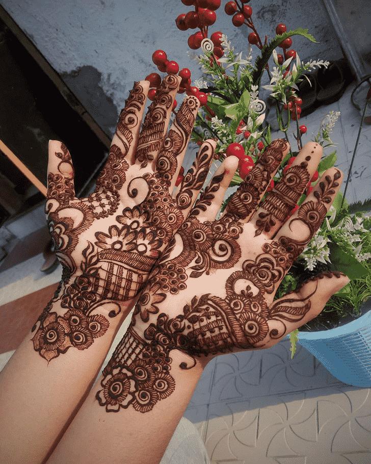 Excellent Hand Henna Design