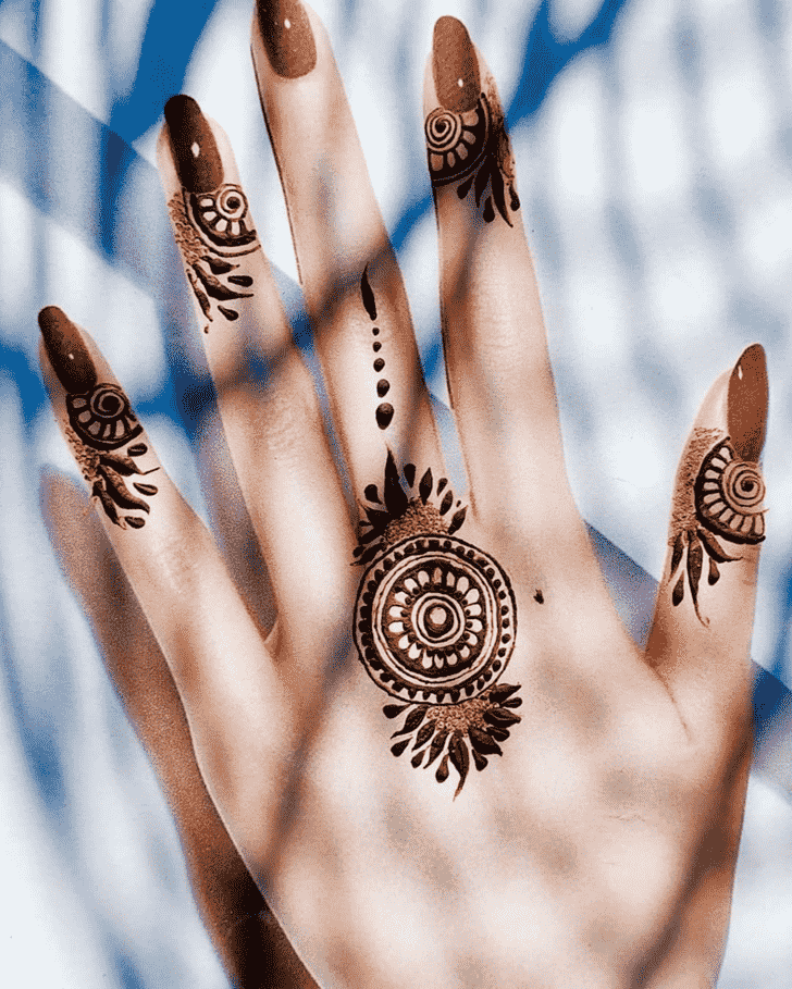 Awesome Hand Henna Design