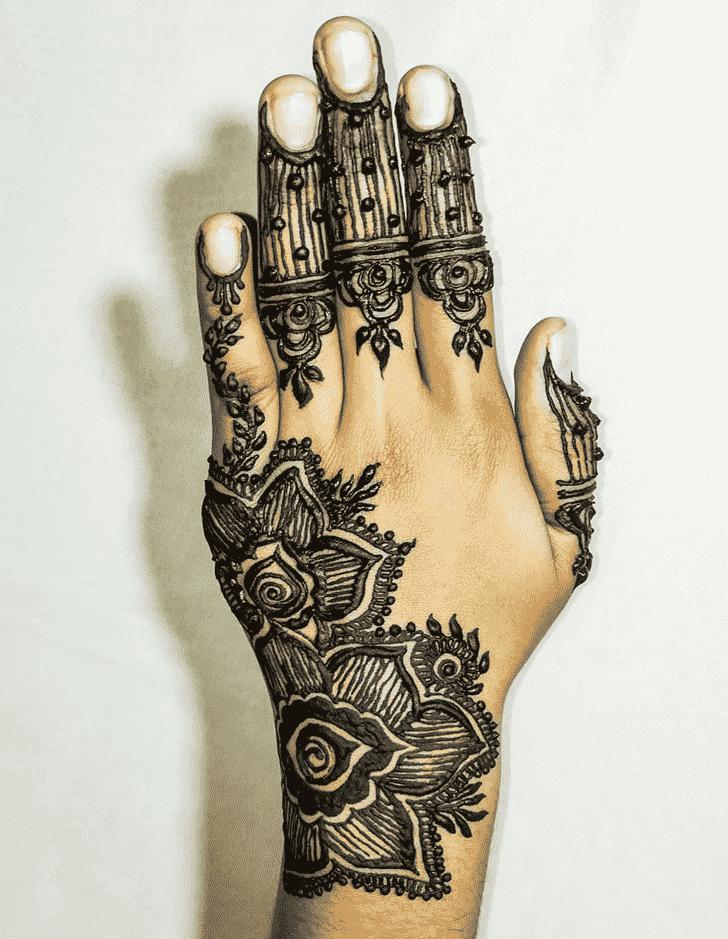 Superb Hand Henna Design