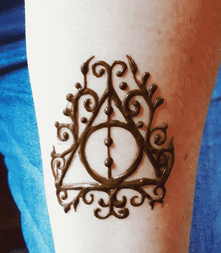 Bewitching Harry Potter Henna Design