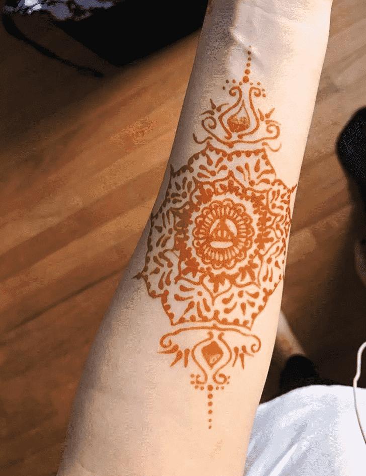 Dazzling Harry Potter Henna Design