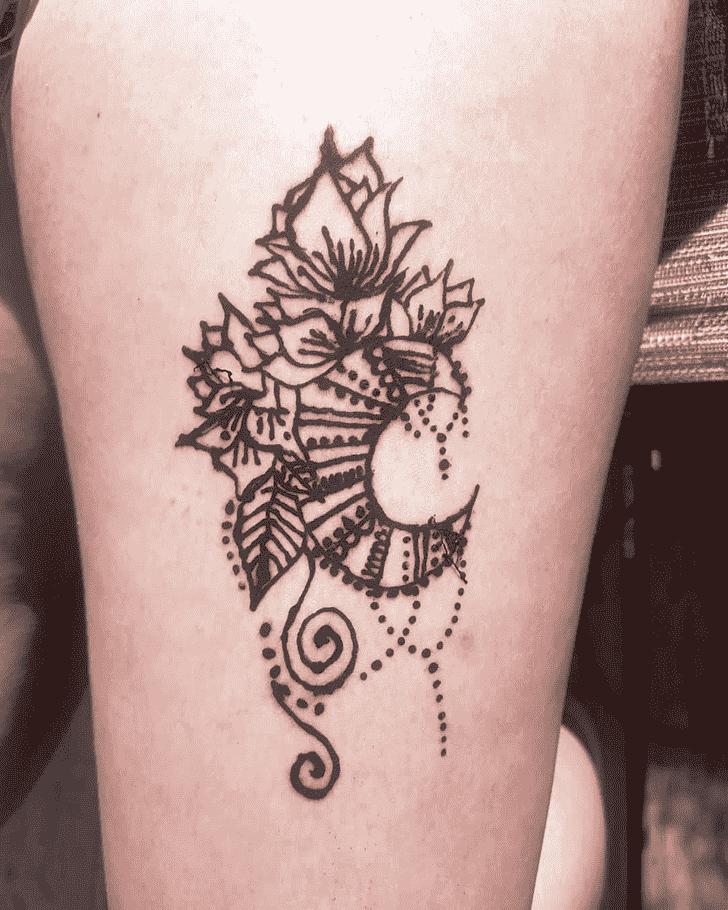 Magnetic Harry Potter Henna Design