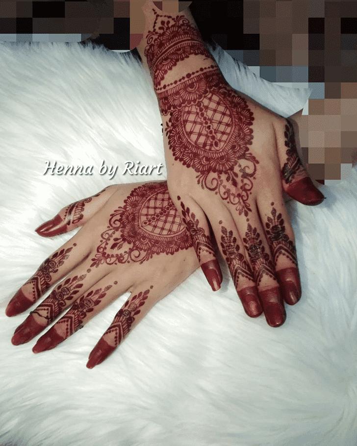 Adorable Henna Design