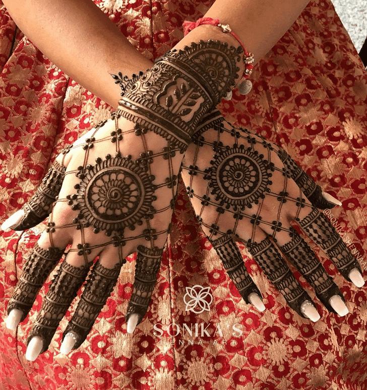 Bewitching Henna Design