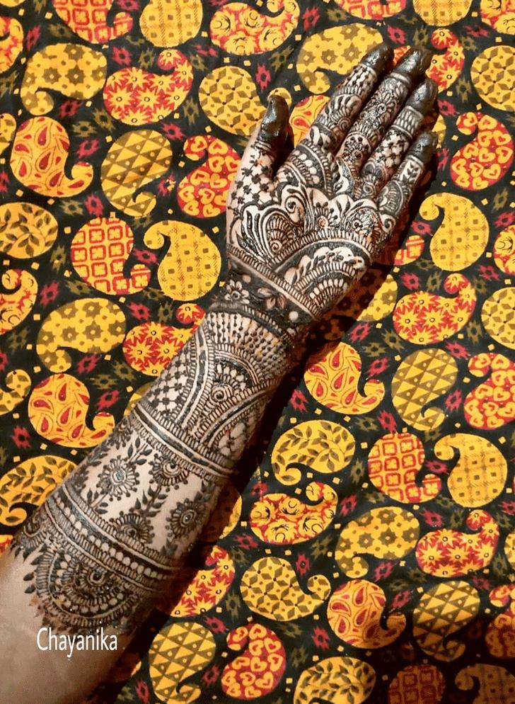 Fair Henna Design