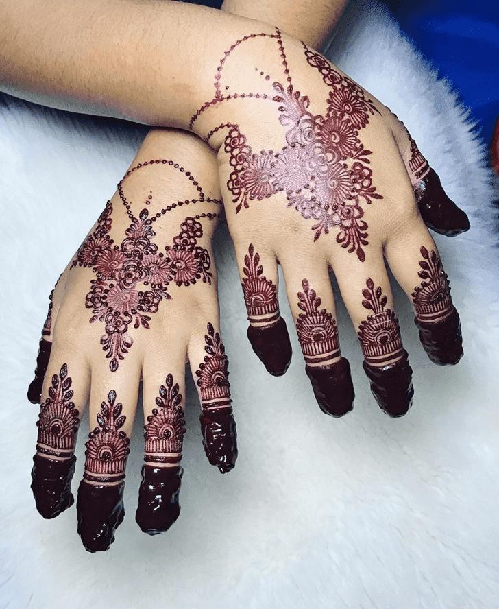Inviting Henna Design