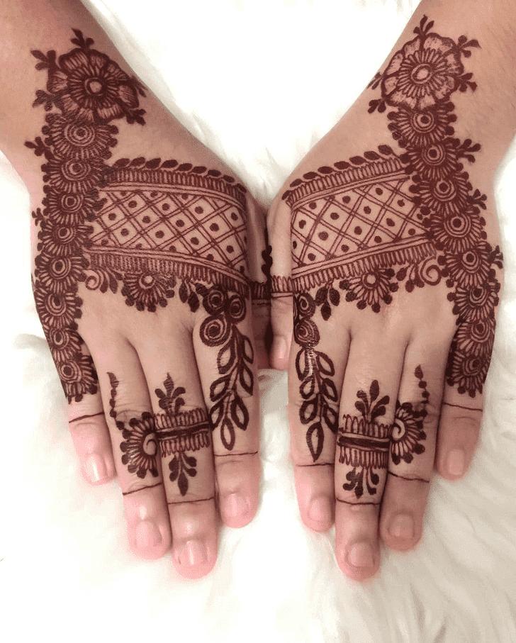 Lovely Heena Mehndi Design