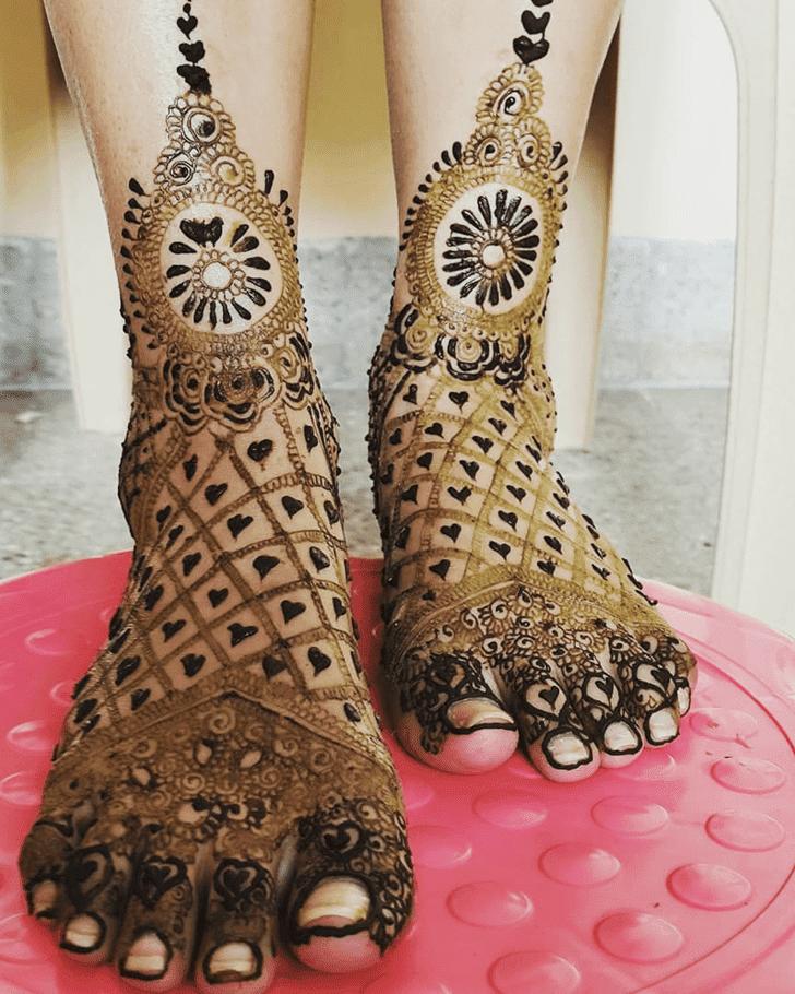 Pleasing Henna Design
