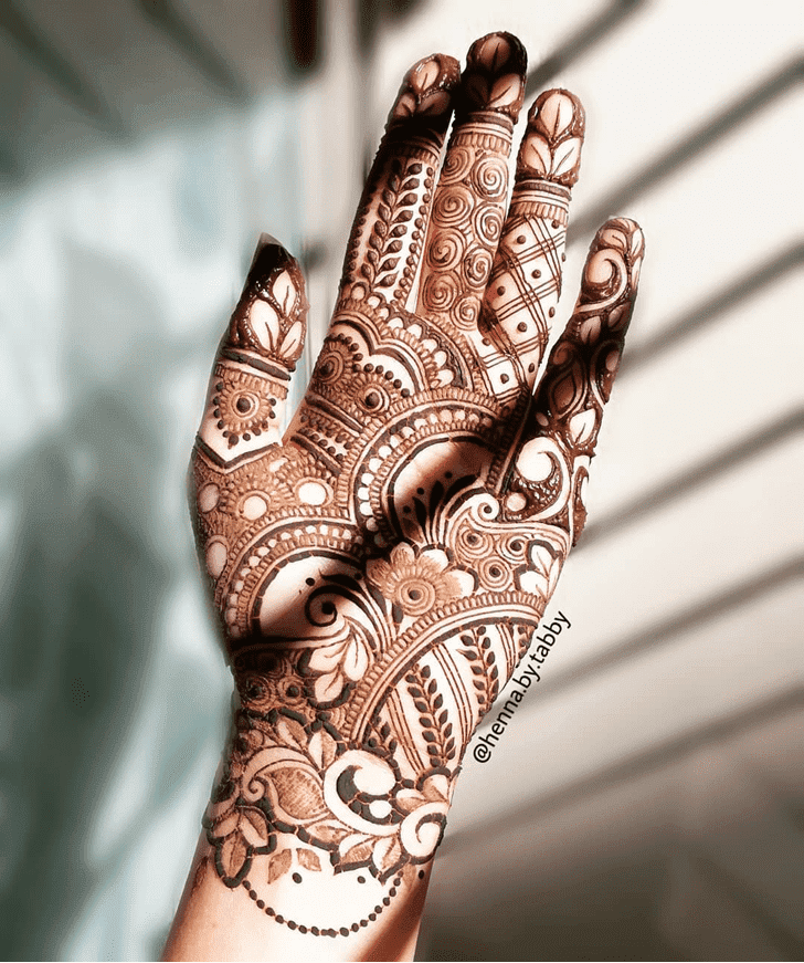 Ravishing Henna Design