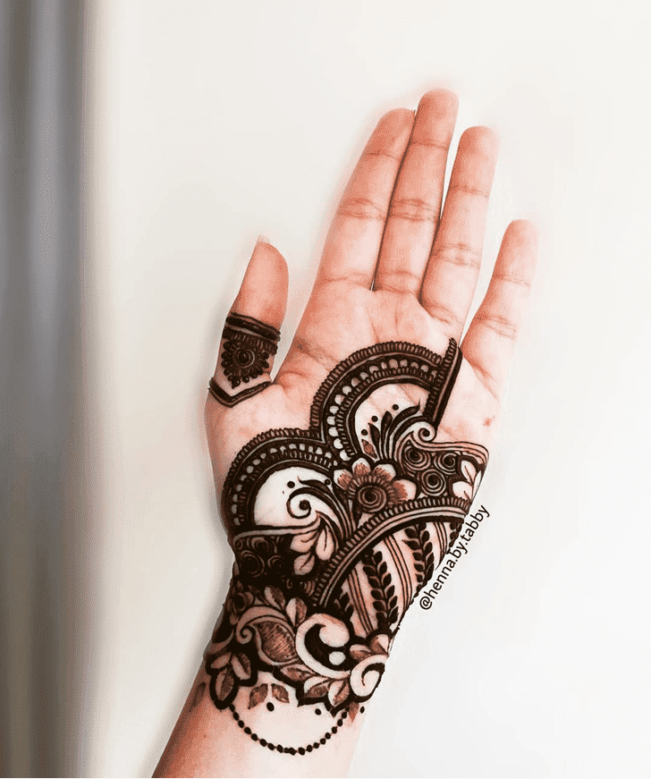 Wonderful Heena Mehndi Design