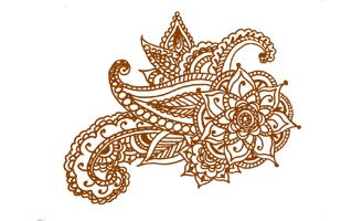 Heena Mehndi Design